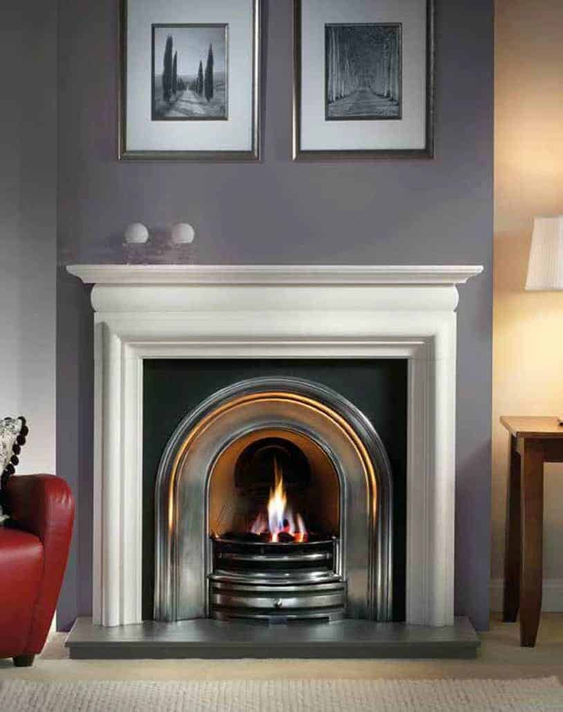 Artisan Harlington Half Polished Arched Cast Iron