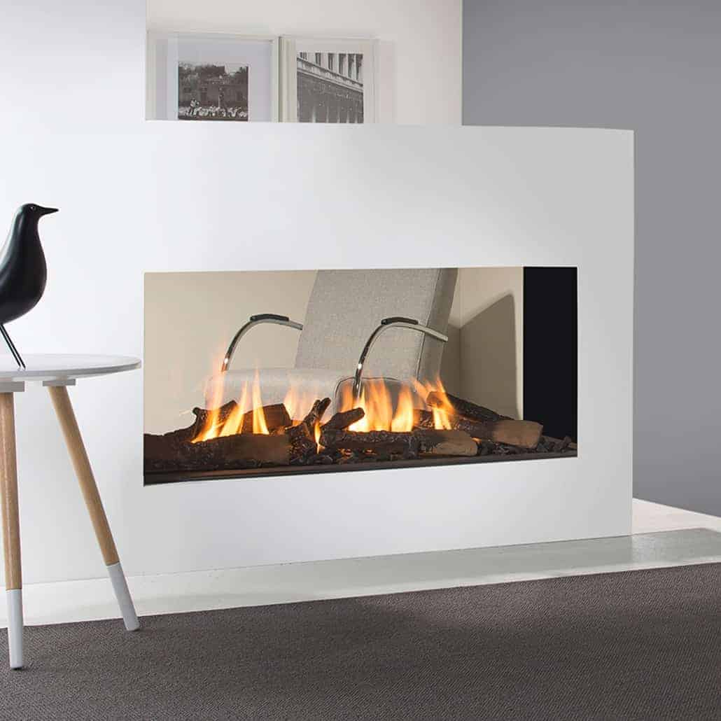 Artisan Tenore 3 Sided Glass Fronted Gas Fire Artisan