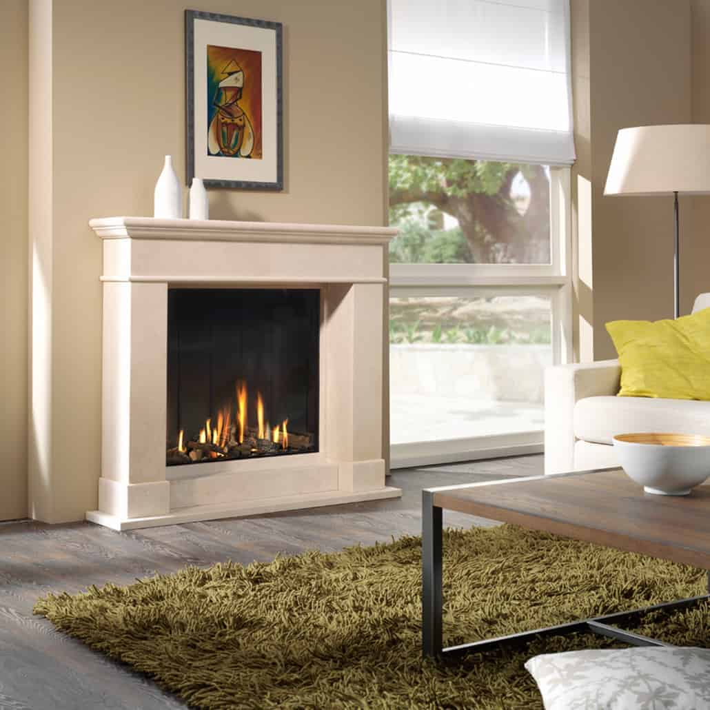 Artisan Optica Glass Fronted Gas Fire Artisan Fireplace