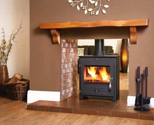 Artisan Portway 2 Double Sided Stove Artisan Fireplace