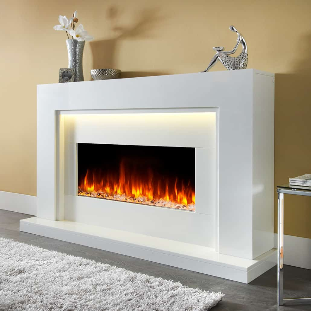 Artisan Denver Electric Fireplace Suite Artisan