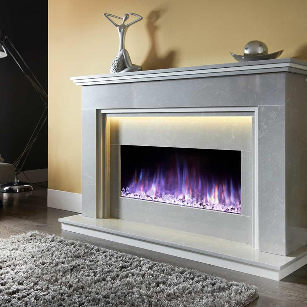 Artisan Step Elite Electric Fireplace Suite Artisan