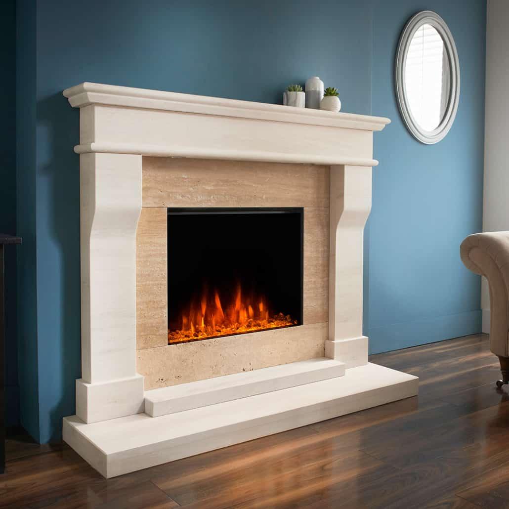 Artisan York Electric Fireplace Suite Artisan Fireplace Design